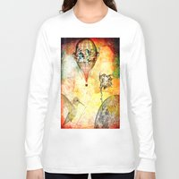 pirates Long Sleeve T-shirts featuring Pirates' DEN by Ganech joe