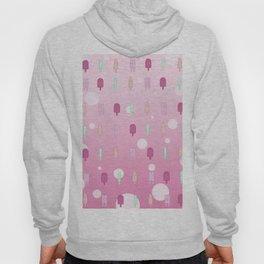 Kawaii Popsicles Pink Hoody