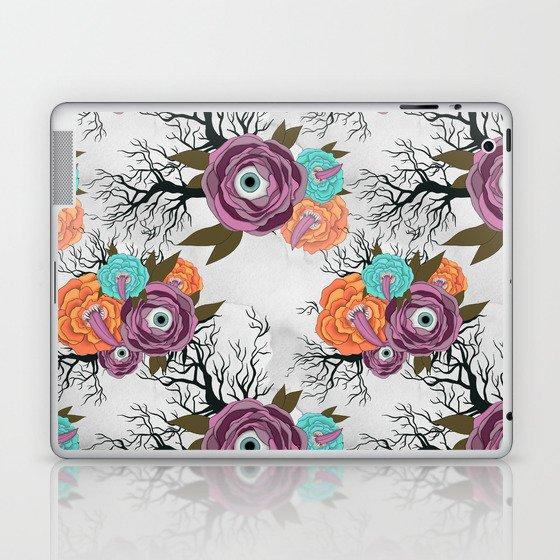 Halloween Flowers Laptop & iPad Skin