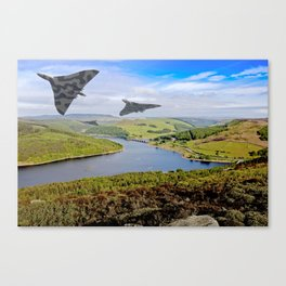 Vee Force in the Valley Canvas Print