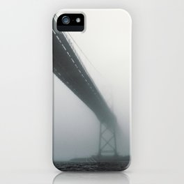 Bridge to Fog iPhone Case