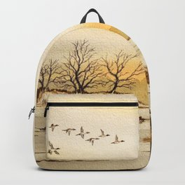 Hunting Pintail Ducks Backpack