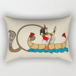 Journey To The Afterlife Rectangular Pillow