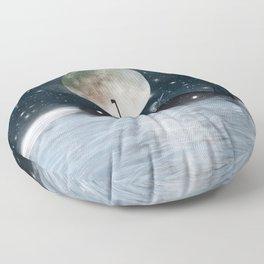 the astrologer Floor Pillow