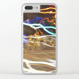 Suburban Trails Clear iPhone Case