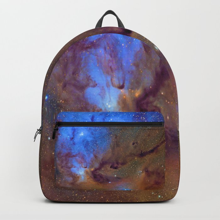 Rho Ophiuchi Cloud with faux sparkles Backpack