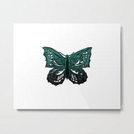 The Beauty in You - Butterfly #3 #drawing #decor #art #society6 Metal Print