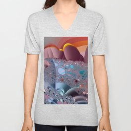 The creation process - Afterglow Unisex V-Neck