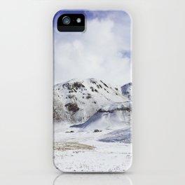 Kyrgyzstan summit iPhone Case