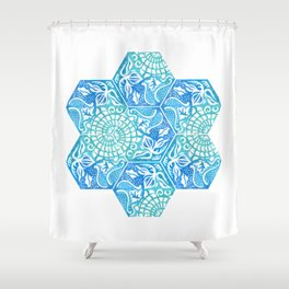 Tiles #12 Shower Curtain