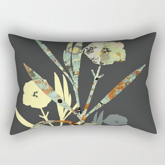 Floral Decor III Rectangular Pillow
