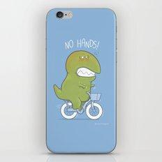 T-Rex tries biking iPhone Skin