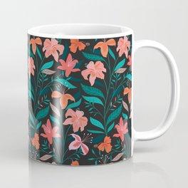 Flame Flowers Coffee Mug