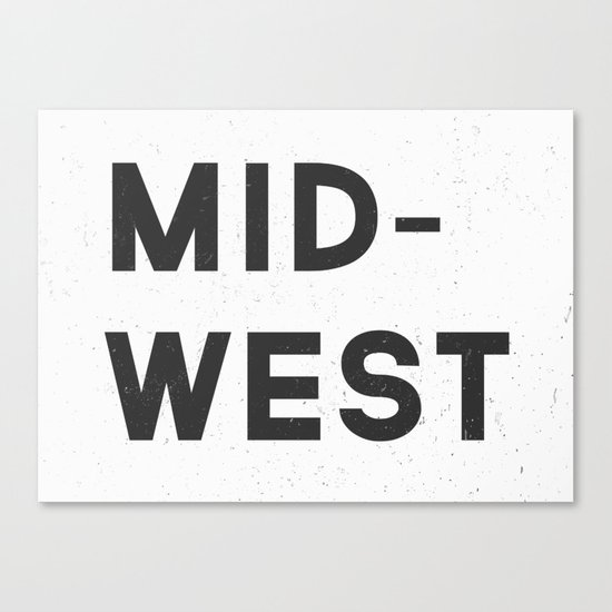 MID-WEST Canvas Print