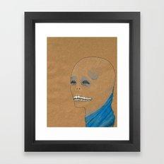 King Demon Framed Art Print