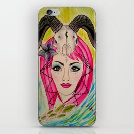 Goddess of The Mystic Mountain iPhone Skin