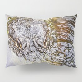 Gator Blowing Bubbles Pillow Sham