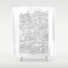 Copenhagen, København, Denmark Shower Curtain