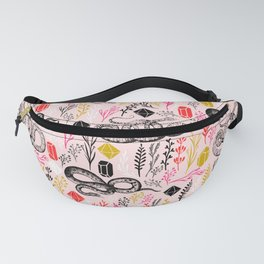 Snakes and Crystal Gems Fanny Pack