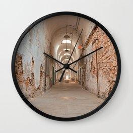 Prison Corridor Wall Clock