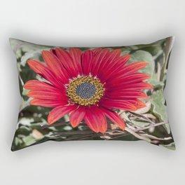 Little red Gerbera Rectangular Pillow