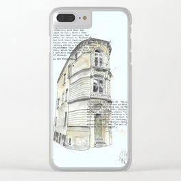 Somerset & the Monmouth Rebellion #1 Clear iPhone Case