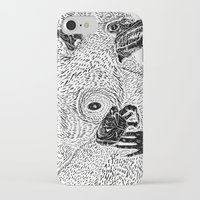 werewolf iPhone & iPod Cases featuring Werewolf by pitchUp