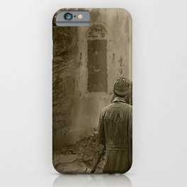 Longing for Holmes iPhone Case