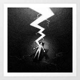 Drawlloween 2016: Frankenstein Art Print