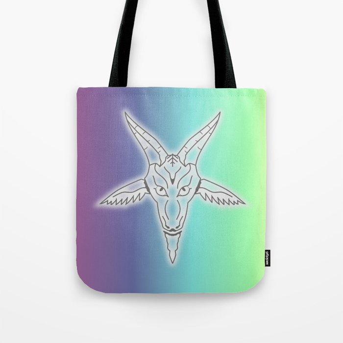 Rainbow Satan Tote Bag