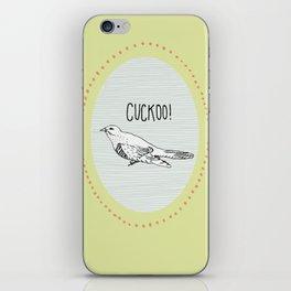 Cuckoo! iPhone Skin
