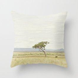 tree of life::kenya Throw Pillow