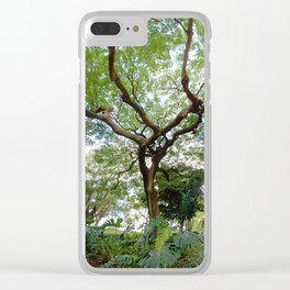 Sky Roots Clear iPhone Case