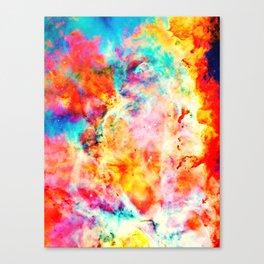 Colorful Abstract Nebula Canvas Print
