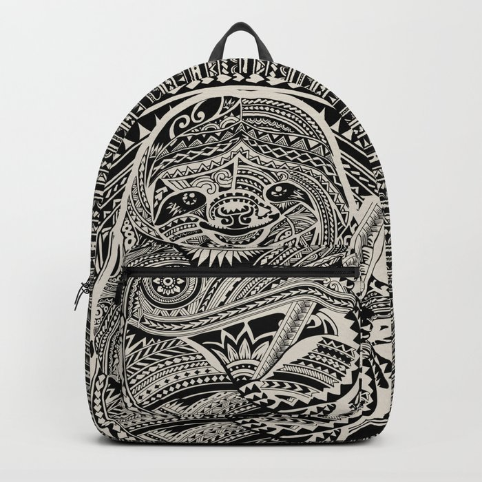 Polynesian Sloth Backpack