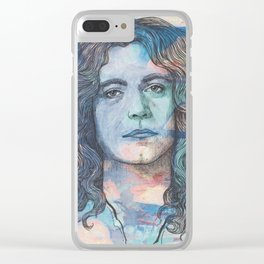 Robert Plant - I'm In Constant Heaven Clear iPhone Case