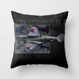 Spitfire 3W-17 Throw Pillow