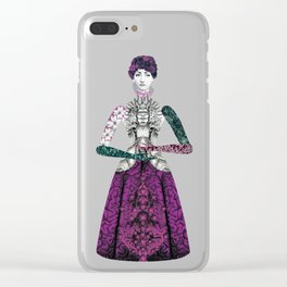 Portrait of a lady: Berenice Clear iPhone Case