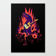 CROC & ROLL Canvas Print