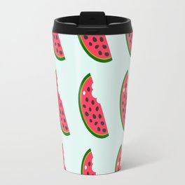many slices of a watermelon Travel Mug