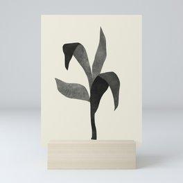 Plant 08 BW Mini Art Print
