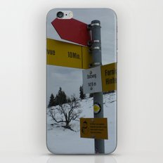 Swiss Adventure iPhone & iPod Skin