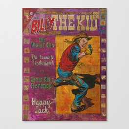 Billy The Kid Canvas Print