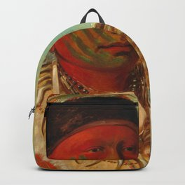 The White Cloud, Head Chief of the Iowas, Catlin Backpack
