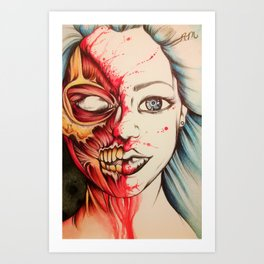 Contagious Art Print