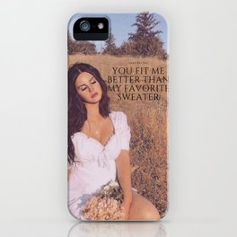 LANA iPhone Case