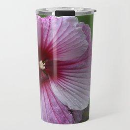 Pink Hibiscus Travel Mug
