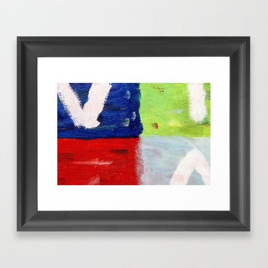 Viva la vida bright Framed Art Print