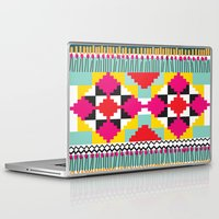 ethnic Laptop & iPad Skins featuring Ethnic by Maria Blanco