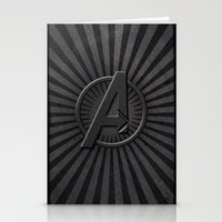 avenger Stationery Cards featuring The Avenger by amesro
